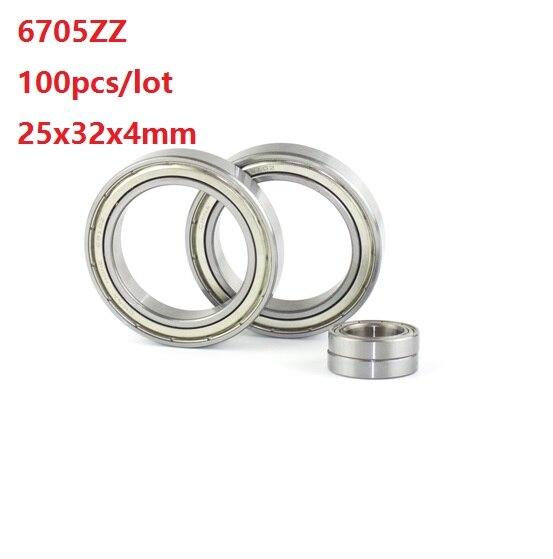 5pcs 6702ZZ 6702Z 6702 2Z ZZ 15x21x4mm Deep Groove Ball Bearing Metal Shielded