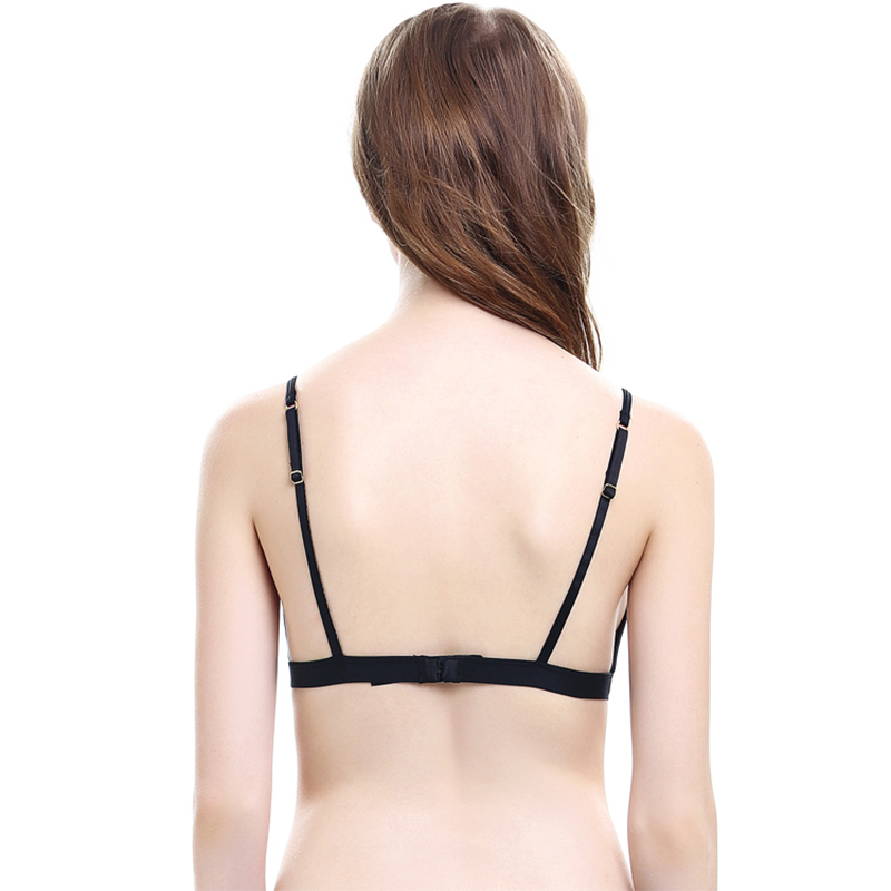 OranriTing Women Underwear Seamless Bra Soft Cup Eyelashes Ultra Thin Bralette Sexy Lace Brassier Girl Comfortable Sexy Lingerie