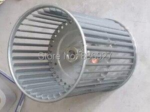 Центральный вентилятор для кондиционера, катушка для ветряных турбин, лопастное колесо 160 мм или 190 мм 14 мм axies 12 мм axies