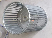 Central Air Conditioning Fan Coil Fitting Wind Turbine Impeller Wheel 160mm Or 190mm 14MM Axies 12MM