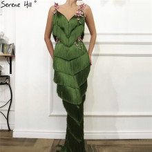 Green Sleeveless Evening Dresses 2019 Mermaid Serene Hill
