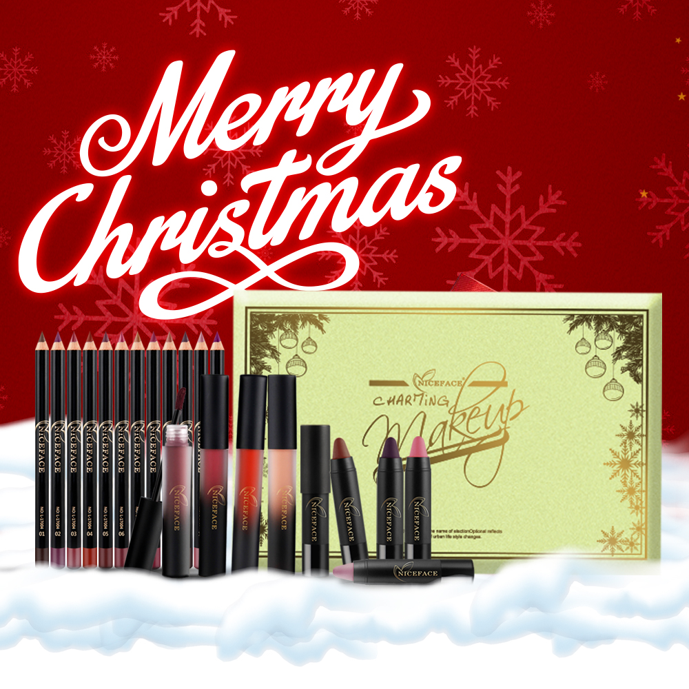 Aliexpress.com : Buy Niceface metallic lip gloss 18 colors