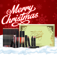 Christmas Gifts For Women Brand NICEFACE Lipstick Lip Pencils Sets Waterproof Moisturizer Lip Gloss Matte Lip