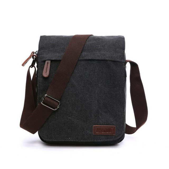f85c68b9ad3 Mannen Canvas Crossbody Tas Ipad Mode Nieuwe Schoudertas 2YWE9DeHI