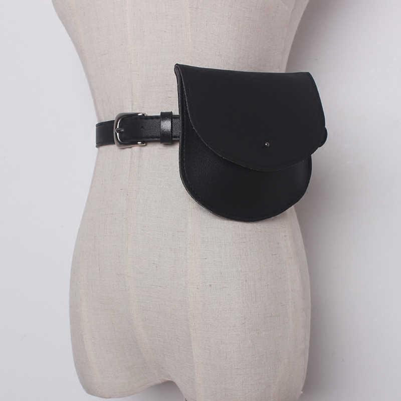 Mihaivina 女性 PU ウエストパックベルトバッグカジュアルキルティングバッグ女性ファニーパック女性サドルバッグ
