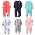 Mamelucos del bebé! nueva Primavera Otoño de Los Niños Recién Nacidos Ropa Del Bebé de La Ropa de Algodón de Manga Larga 0-12 M Niños Bebé ropa