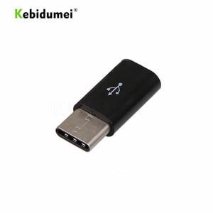 Image 3 - Kebidumei 5pcs Type C Male to Micro USB mini USB 3.1 5 Pin Female Data Transmission Head Adapter Charging Data Sync Transfer