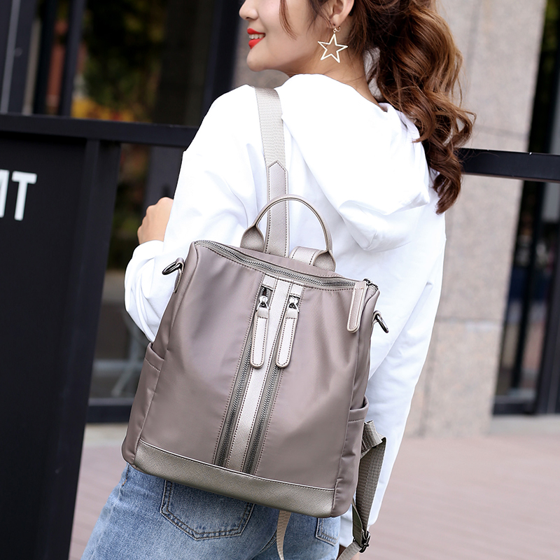 Women Backpack Brand Nylon Lady Double Shoulder Bag Womens Backpacks Female Casual Travel Backpack Bags Mochila Feminina
