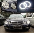 Для Mercedes Benz e class w211 2003-2009 Отлично led Angel Eyes Ultrabright освещения smd led Angel Eyes Halo кольцо комплект