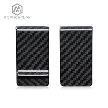 Monocarbon высококачественный настоящий кошелек из углеродного