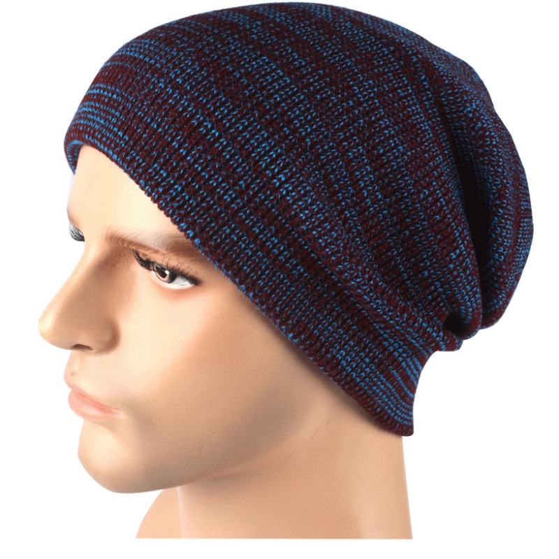 New Men And Women Knitted Wool Cap Fashion Warm Hat Winter Hat For Couple And Lovers Ski Head Cap pointed hat knitted korean candy colored cap knitted wool hats men and women autumn winter warm couple cap 90005