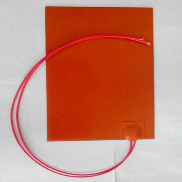 150 x 150mm 110W 220V Wholesale Silicone Rubber Heater flexible Silicone Heater mat Heating Element 3D printer heated bed um 2 go 3d printer parts upgrade silicone rubber heater mat heated bed pt100 sensor for ultimaker 2 go build platform