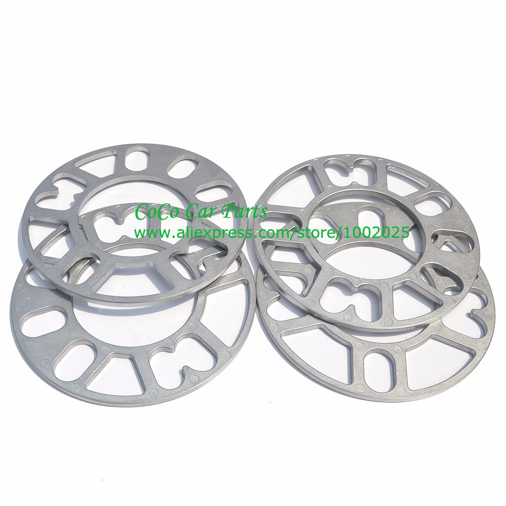 Image 3 - 2PCS Universal Alloy Aluminum Wheel Spacer Shims Plate 4 5 STUD 3mm 5mm 8mm 10mm FIT 4x100 4x114.3 5x100 5x108 5x114.3 5x120-in Tire Accessories from Automobiles & Motorcycles