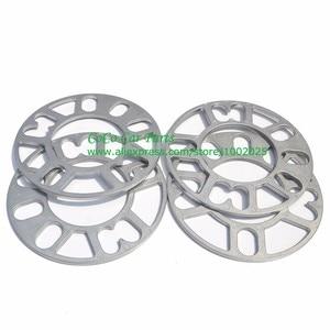 Image 3 - 2PCS Universal Alloy Aluminum Wheel Spacer Shims Plate 4 5 STUD 3mm 5mm 8mm 10mm FIT 4x100 4x114.3 5x100 5x108 5x114.3 5x120