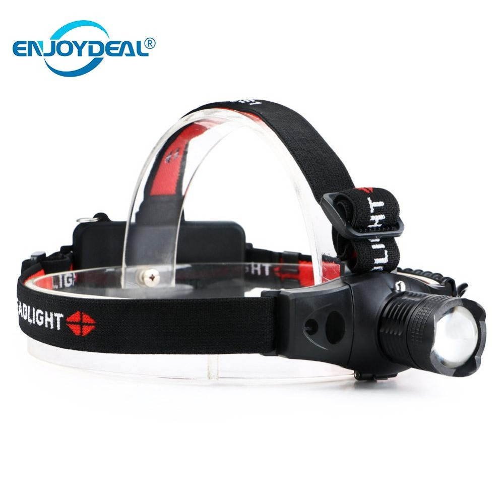 Adjustable LED Headlamp Focus 1000 Lumens CREE R5 LED Headlight Head Light Fog Flashlight For 18650/AAA Camping Fishing Hiking ...