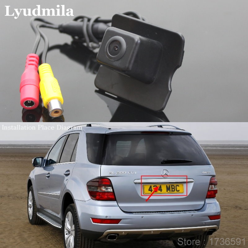 Lyudmila per Mercedes Benz M ML W164 / Auto Back up Telecamera - Elettronica per Auto