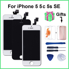 AAA Quality LCD For iPhone 5 5C 5S SE Replacement Screen Display Digitizer Touch Screen Assembly For iPhone 6 LCD Screen