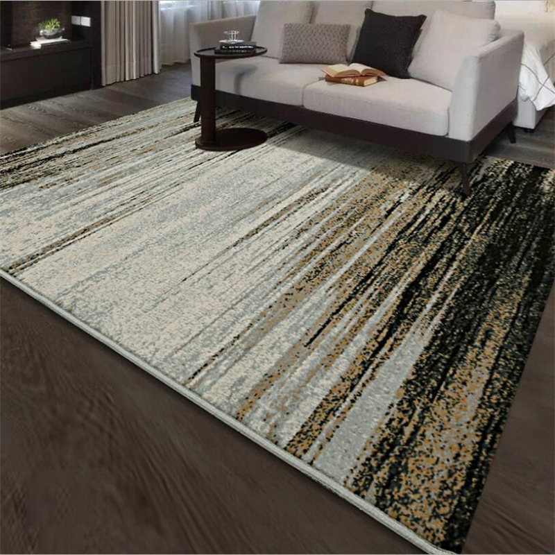 2018 New Abstract Style Soft PP Large Carpets For Living Room Bedroom Rugs Home Carpet Floor Door Mat Decorate House Area Rug
