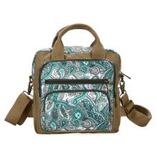 Fashion Floral Printing Women Messenger Bag Canvas Handbag Satchel Shoulder Bag Ladies Famous Brand Crossbody Bag Bolsa Feminina
