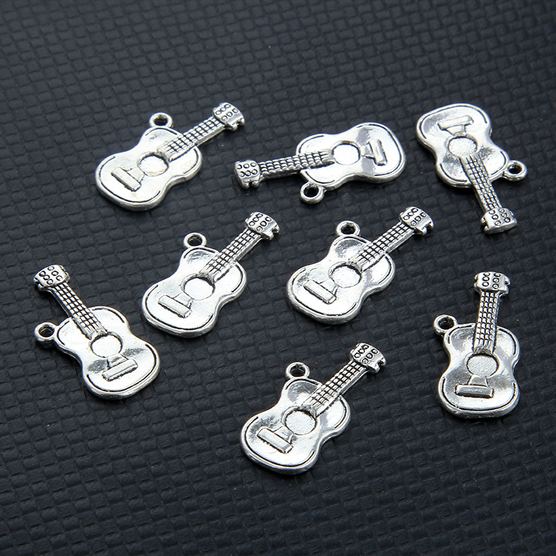 10pcs creative design guitar charms pendant for jewelry making diy accessories wholesale 25 11mm. Black Bedroom Furniture Sets. Home Design Ideas