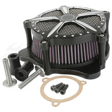 Modified Air Cleaner Intake Filter For Harley Softail Dyna Glide Rocker 04-07