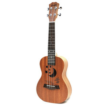 TSAI Professional 23 Inch Ukulele Uke Hawaii Acoustic Guitar Sapele 15/17 Fret Wood Ukulele Musical Instruments For Great Gift