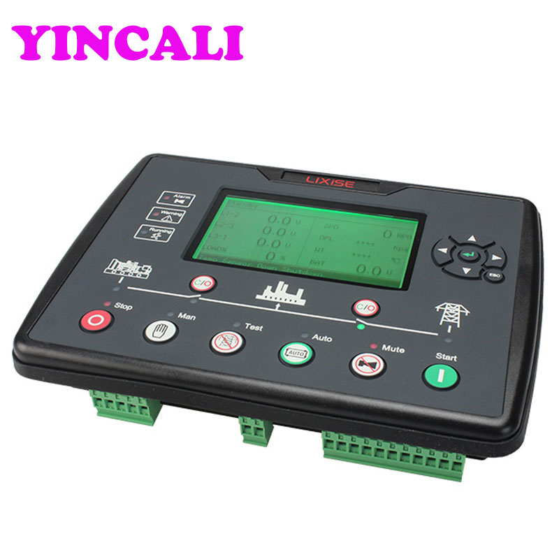 Diesel Generator Digital Control Panel LXC6120E Control Ats Module Engine Controller Replaced DSE6120 Generator Controller dse5110 deep sea controller generator controller ats moduel