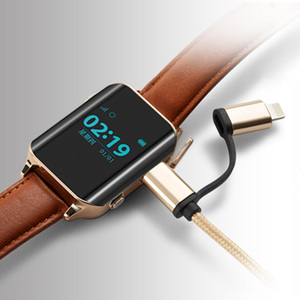 Image 2 - A16 smartwatch z lokalizatorem gps inteligentny zegarek gps lokalizator dla starszych odnalezienia lokalizacji biura pulsometr, zegarek obsługa karty sim D100