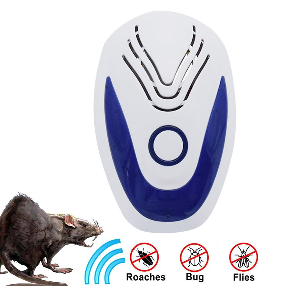 Electric Ultrasonic Repeller Multifunctional Environmental Protection Insect Mosquito Repellent Device For Home Kitchen in Repellents from Home Garden