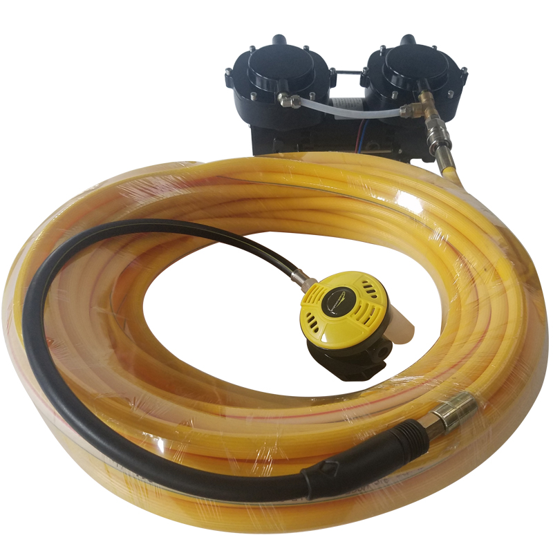 Davv original 12v 160w oil free diaphragm electric vacuum - Electric dive hookah ...