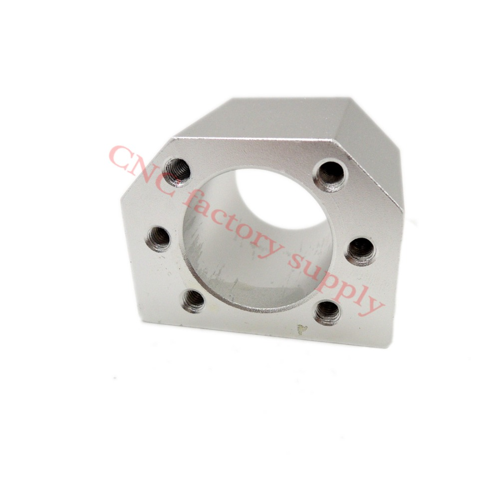 Free shipping aluminium alloy ballscrew nut housing bracket holder fit for SFU1605 SFU1610 ball screw aluminium alloy headset stand holder