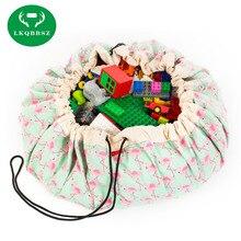 Портативные дети; Младенцы игровой коврик большие сумки для хранения игрушки Органайзер покрывало, плед игрушки-голов