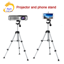 Adjustable Portable Projector and phone Digital Camera Tripod 65cm and 110cm Mount Stand Gift tray