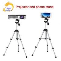 Ajustable Proyector Portátil y teléfono Cámara Digital Trípode 65 cm y 110 cm de Montaje Soporte bandeja De Regalo