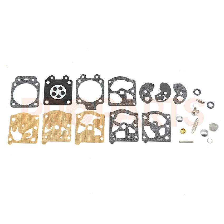 Genuine Walbro D10-WAT Carburetor Gasket & Diaphragm Kit OEM carb repair kit gasket diaphragm for walbro k10 wat wa wt carburetor stihl 028av 031av 032 032av chainsaw