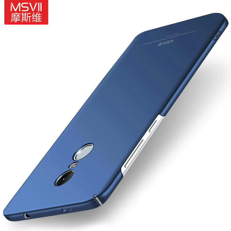 MSVII для Xiaomi Redmi Note 4 4X3 S Global Case Red mi 3 S 3pro 4 4 pro prime чехол простой ПК для Xiaomi mi Note 2 3 4 4C 4I чехол