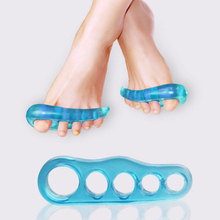 1 Pair Gel Silicone Bunion Corrector Toe Separators Straightener Spreader Foot Care Tool Hallux Valgus Pro massager for woman Z3