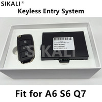 Keyless Entry System With Remote Key For A6 A6L S6 Q7 2005 2010 Support 315 433