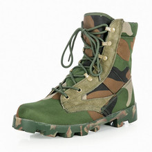 Male SWAT Military Breathable Tactical boots Men Army Combat Desert Jungle Camouflage Boots Handsome Hiking Hunting Shoes
