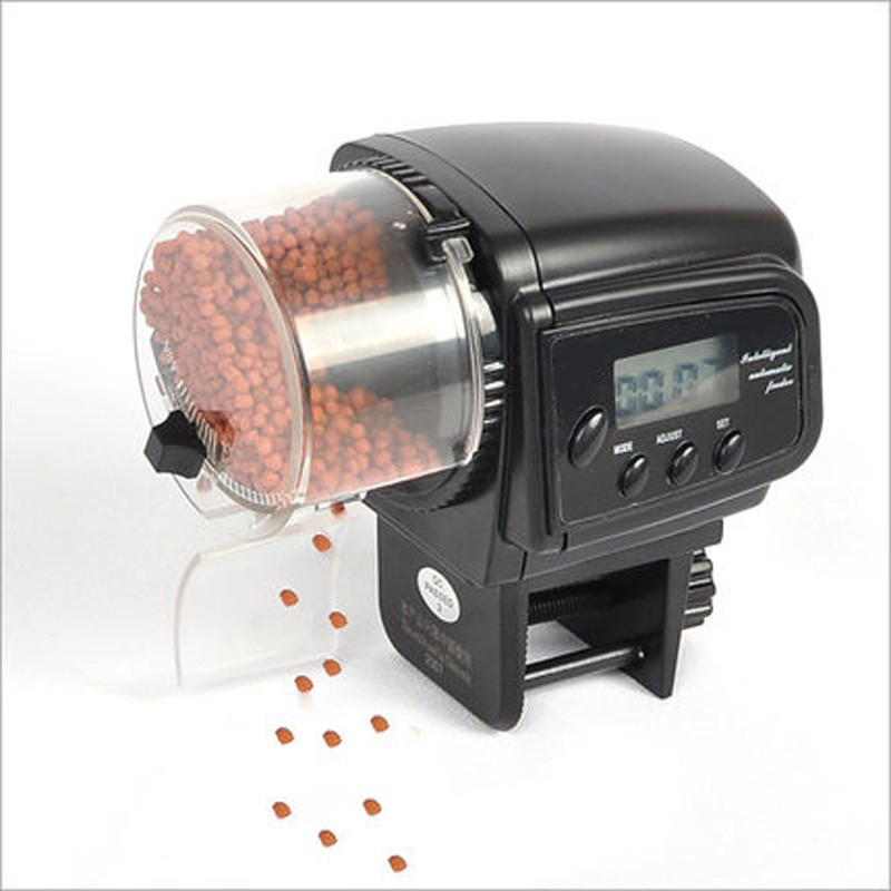 Buy resun af 2009d digital lcd automatic for Fish tank auto feeder