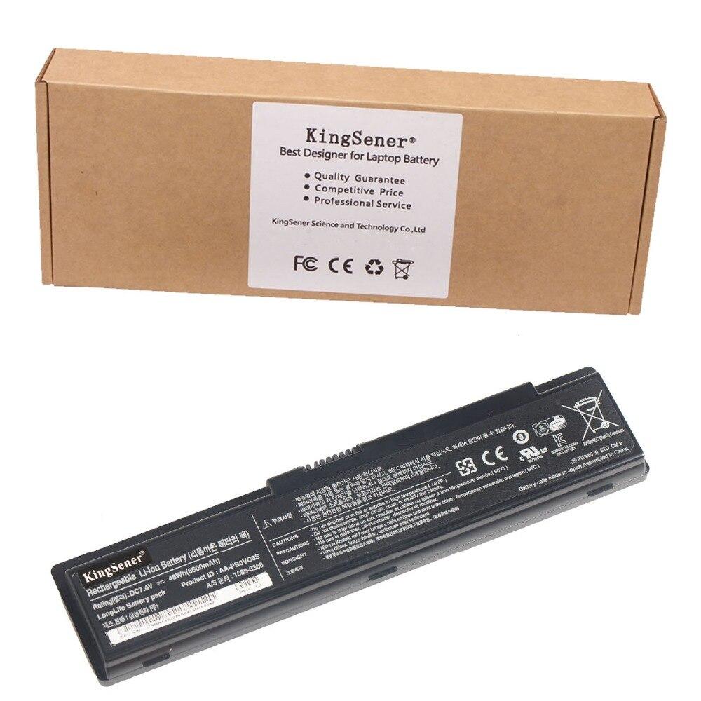 7.4V 6600mAh KingSener AA-PB0VC6S Laptop Battery for SAMSUNG N308 N310 N311 N315 NC310 X118 X120 X170 X171 AA-PB0VC6B AA-PB0VC6V  петля palladium n 613 s 5 pb латунь права
