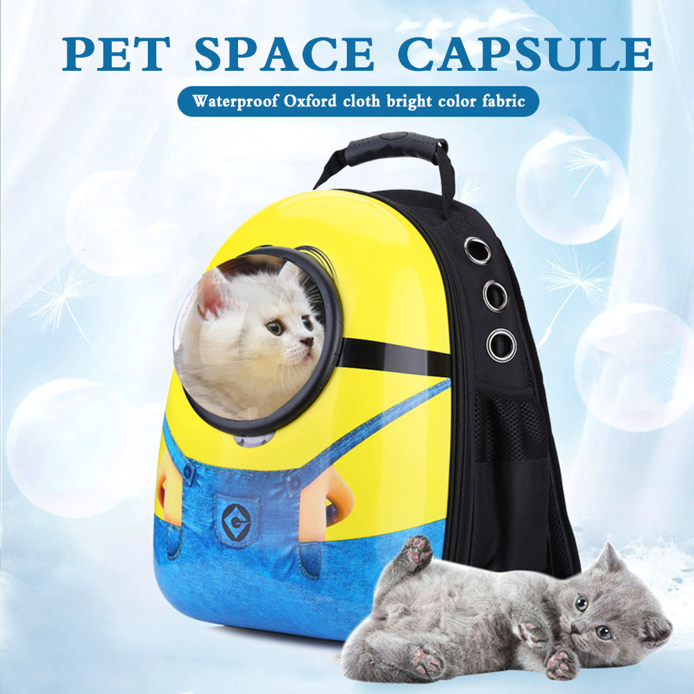 Breathable Space Capsule Pet Cat Dog Carrier Bag Dogs Backpack For Kitty Puppy Chihuahua Small Pets