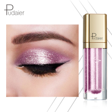 2019NEW Pudaier 18 color Eye Shadow Shiny Champagne Fluid Brighten Contour Sparkling Makeup Eyeshadow Shimmer Pigment