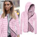 snowshine #20 Women Long Sleeve Winter Hooded Coat Zipper Jacket free shipping