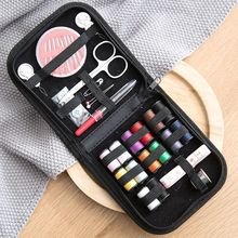 цена на 10Pcs/set Portable DIY Sewing Box Multi-function Travel Sewing Kit Needle Thread Threader Tape Scissor Storage Bag Sewing Set