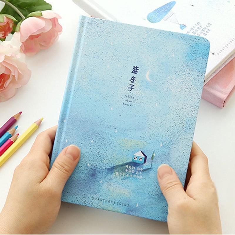 Creative A5 Taille Cahier Petite Maison Bleue Journal Livre