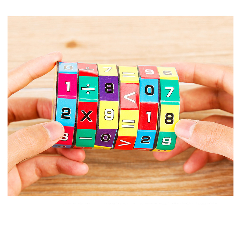 2018 New Arrival Slide puzzles Mathematics Numbers Magic Cube Toy Children Kids