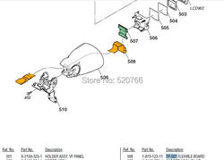 Nowy oryginalny dla son HVR-V1 flex elastyczna płyta FP-501 187012311