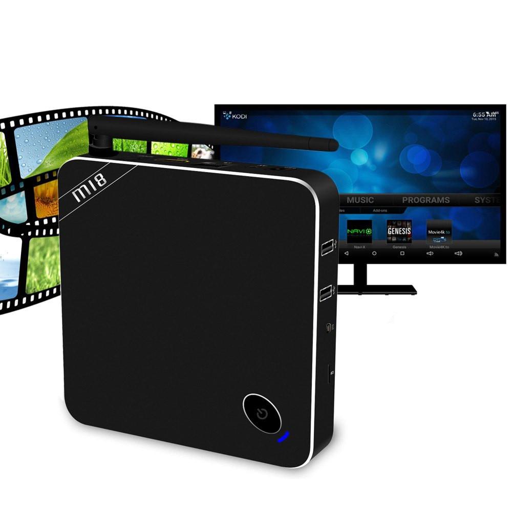 ФОТО Original Beelink M18 TV Box Amlogic S905 Quad Core Android 5.1 BT 4.0 2.4G 5.8G WiFi HD 2GB 16GB 1000Mbps LAN Google TV Player