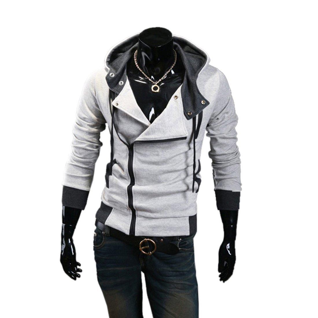 53c19d7708e New Hoodies Brand Men Sweatshirts Jackets Winter Fashion Sweatshirt Zipper  Design Men s Sportswear 4 Color M